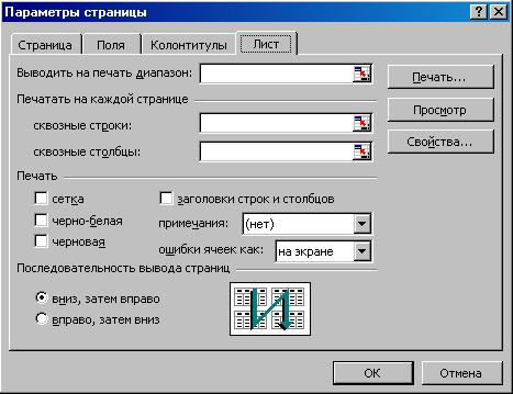 Самоучитель по документообороту MICROSOFT EXCEL Предварительный просмотр и печать таблицы